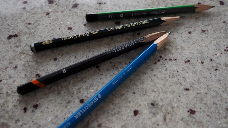 Как выбрать художественные материалы. Профессиональные простые карандаши koh-i-noor, Faber-Castell, Derwent, Milan, Staedtler